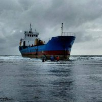 EURO UNOが座礁   フィリッピン
