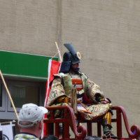 松山春祭り大名武者行列