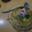17340 DOG HOUSE@富山 7月14日 ラヲタ最大の落胆の後に絶品冷やし乱舞!悶絶の美味しさ! 辛つけ麺 試作冷やし2麺試食(*´з`)