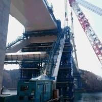 気仙沼大島と本土が橋で結ばれました(愛称は『鶴亀大橋』)