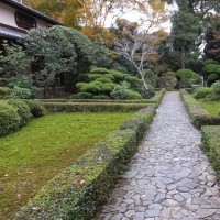 京都「安楽寺」名園の紅葉