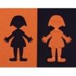 男の子と女の子のエンボスパンチはデコップ・ ボーイ&ガール<shopWA・ON>