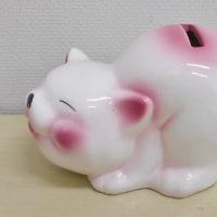 にしざわ貯金箱かん つれづれ雑記(癒されるネコの貯金箱)