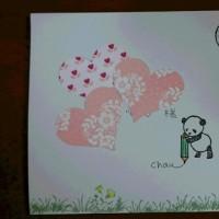 かわいいファースト絵封筒をいただきました