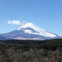 富士山からパワーをいただく
