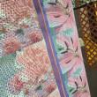 ジャガード織物と昇華転写プリント