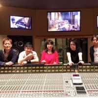 山崎ふみこさんレコーディング!