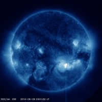 ■少し大きめ中規模太陽フレア■