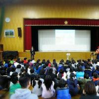 北川チハルおはなしライブ@錦林小学校 終了!そしてミロコマチコ展。