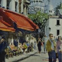 「 パリのカフェ 11 」
