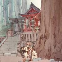 日曜美術館「木版画 未踏の頂へ~吉田博の挑戦~」