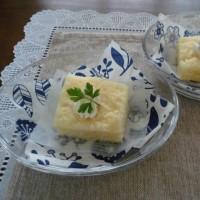究極に簡単な牛乳ケーキ作ってみました。