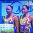 デュエット日本、メダル届かず… 世界水泳シンクロデュエットフリー決勝