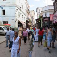 ハバナビエハ(旧市街)の休日