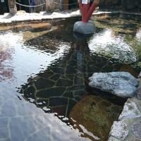 青空の露天風呂