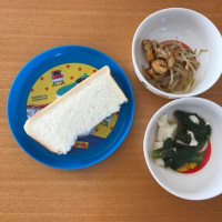 今日の離乳食(朝御飯)【179日目】