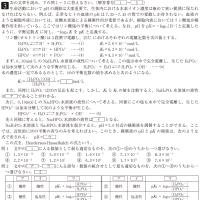 獨協医科大学・医学部・化学 3