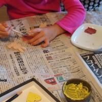 Kちゃん陶芸をする その2