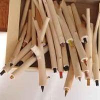 木の枝鉛筆
