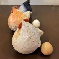 酉年 野焼きの鶏と卵  梅原育子さん