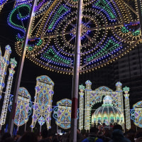 神戸ルミナリエ2016 (スパッリエーラ) 東遊園地 2016.12.08