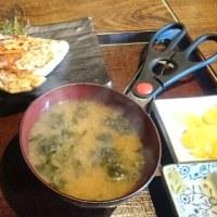 お昼の鶏と餃子