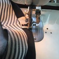 タグを縫うとキリッとします!