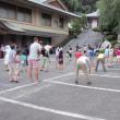 町内のラジオ体操の会開始