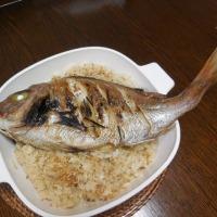 定番鯛の炊き込み