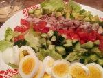 コブサラダを作ってみました!