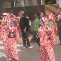 昨日4月20日、地元でパレードが