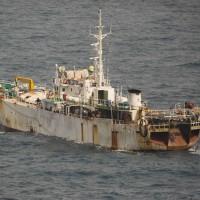 豪州が密漁船を拿捕した