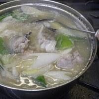 峰村さんの白味噌で鱈汁!