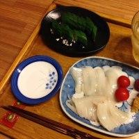今晩御飯〜トビウオの柚子酢締め #Gohan #ryouri #ご飯 #料理