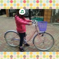 次女のニュー🆕自転車🚲