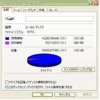 老朽化HDDのパーテーションサイズ変更は金銭が絡む(笑)