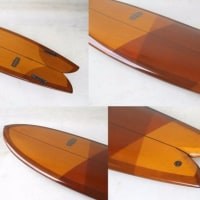 "Almond Surfboards アーモンドサーフボード ""POGIE FISH""  5'11"""