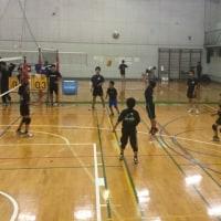 5月29日 山北高校小中学生練習会