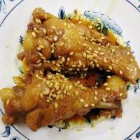 「手羽元の甘辛さっぱり煮」つくってみました!・・・鶏肉料理