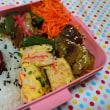 ごま&梅干しご飯とオープンオムレツ