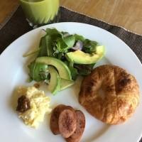 土曜日の朝ご飯