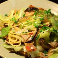 干し椎茸のスパゲッティー