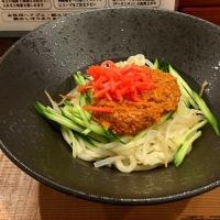 東京じゃじゃ麺を頂きました。 at 東京じゃじゃ麺