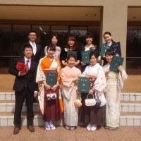 平成28年度学位記授与式ー!!!