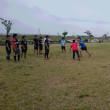 どんよりとした梅雨空の中、若手が集まりました。今月末の試合頑張りましょう。