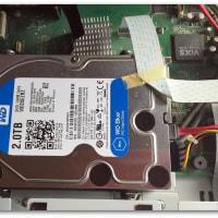 【故障】東芝ハードディスク・レコーダー VARDIA RD-X9 致命的エラー ~ HDD 換装顛末記