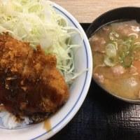 ソースカツ丼 with 豚汁(小)@Kつや