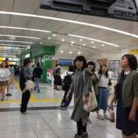 気温が上れば湿度は下がる…北斗市~函館空港~羽田空港~東京都内~諏訪市