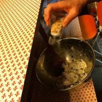 今晩御飯~後半の分 里芋お焼きの作り方