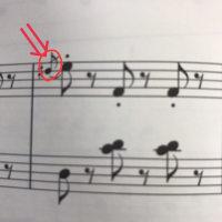 小2のYくん、装飾音符がとても上手に弾けました♪